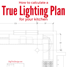 kitchen lighting plans. how to calculate a true layered lighting plan for your kitchen plans i