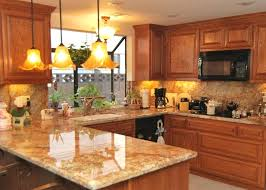 countertop ideas for light oak cabinets project ideas granite with oak cabinets best honey on painting