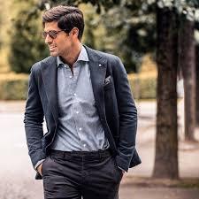14 grey heavy autumn blazer