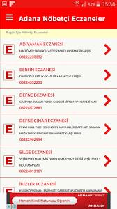 Adana Nöbetçi Eczane for Android - APK Download