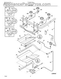 frigidaire 5303208499 dual gas safety valve appliancepartspros com part diagram