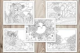 You can download printable coloring pages from this website for free, to help us do visit our sponsors to keep us running. 21 Spring Coloring Pages Free Printable Spring Adult Coloring Pages The Artisan Life
