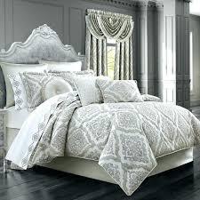 new bedding set skyline duvet york themed sets j queen sand chenille damask comforter double