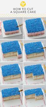 Choose from 21000+ rectangular cake graphic resources and download in the form of png, eps, ai or psd. How To Cut A Square Cake Wilton Blog Cake Cookie Dessert Baking Tips Tricks