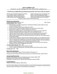 Valuable Property Manager Cv Apartment Manager Resume Yun5 Rs