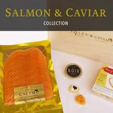 smoked salmon caviar collection