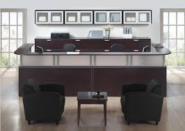interior 2 person reception desk amazing cherryman amber am 403n large guest with regard to