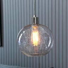 seeded glass pendant lighting energy efficient lights multiple design colored