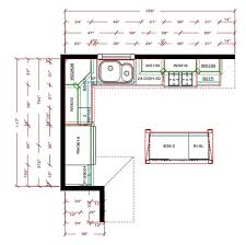 Kitchen Floor Plans With Island kitchen dazzling l shaped kitchen floor  plans modern with island with