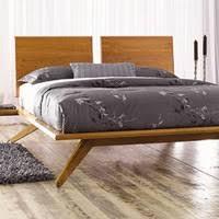 modern platform bed wood. Astrid Modern Platform Bed Wood E