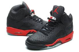 jordan shoes 2015 for boys black and red. mens air jordan 5 burst pattern high black red shoes 2015 for boys and