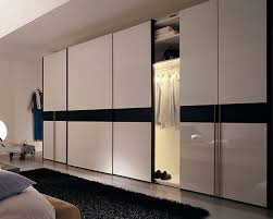 Mirror Sliding Closet Doors For Bedrooms Extra Large Wardrobe Design With Sliding Doors And White Gloss