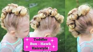 the bun hawk crazy hair day cute s hairstyles video dailymotion
