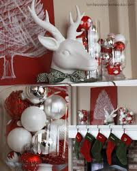 red and silver table decorations. Red And White Christmas Table Decorations - Rainforest Islands Ferry Trend Decoration Decor Ideas For Arrangement Easy Decorating Silver