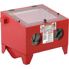 quick view item t27156 top loading benchtop sandblast cabinet