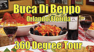 Fun 360 Tour of Buca Di Beppo in Orlando, Florida - YouTube