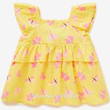 Little Maven Size Chart Little Maven Top 100 Woven Cotton T Shirt Short Sleeve Kid