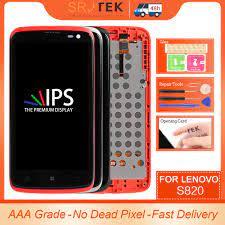 For Lenovo S820 Display S820 Screen ...