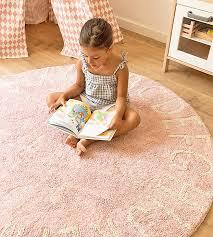 lorena cs kids room vintage style rug abc pink