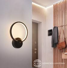 led wall lamps nordic style bedroom led