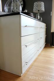 Kitchen Sideboard Ikea Tarva Transformed Into A Kitchen Sideboard All Things Gd