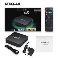 Android TV BOX MXQ Pro 4K Smart TV Box GARANSI Media Player ram 2gb