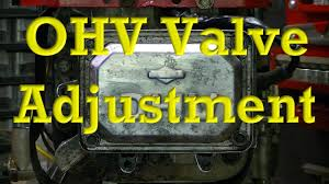 Briggs Spec Chart How To Adjust Valves On Ohv Small Engines Valve Clearance Lash