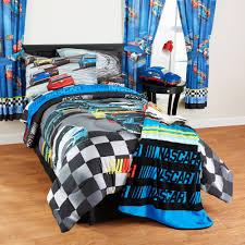 Nascar Bedroom Furniture Nascar Pit Stop Tw Fl Comforter Walmartcom