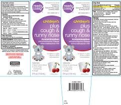 Ndc 49580 0297 Childrens Plus Cough And Runny Nose