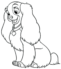 30 Free Printable Cute Dog Coloring Pages Coloring Page Of Dog