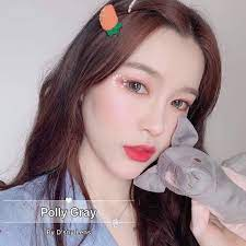 POLLY GRAY 15MM RM25 free postage 🌼 . Add on case lens ⤵️ • normal case  lems + RM1 . • mirror lens case + RM4 • set of li… | Beautiful eyes,  Eyebrows, Eyeshadow