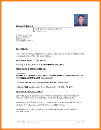 Resume Format For Free Download 100 Resume Format Free Download Scienceresume 15