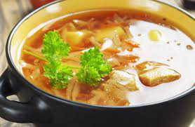 Sweet n' Sour Chicken and Cabbage Soup Recipe
