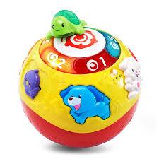 Quả bóng tập bò thông minh VTech Wiggle & Crawl Ball cho bé