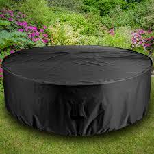 gardman 6 8 seater round patio table covers design hi res wallpaper photos