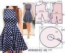 Выкройка летнего платья для начинающих размер 50