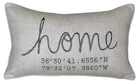 Coordinates Pillow Cover