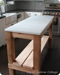 Reclaimed Wood Kitchen Island. Looking For Something Like This That Home Design Ideas