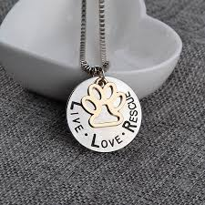 rescue cats necklace