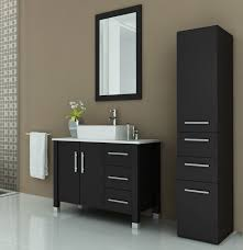 avola 40 inch vessel sink bathroom vanity espresso finish