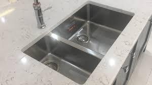 quartz worktops warrington alexanders kitchens warrington under mounted sink in quartz