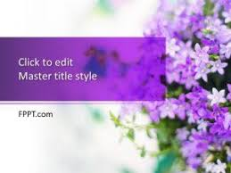 Flower Powerpoint Flowers Powerpoint Templates