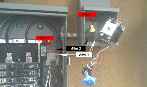 2 Pole Contactor Wiring Diagram issue with a definite purpose contactor and photo cell electrical cool wiring