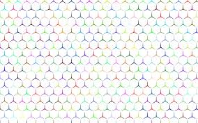 Prismatic Hexagonalism Pattern No Background Icons Png Free Png