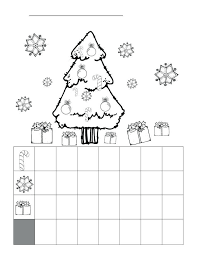 christmas graphing worksheets free   Thecannonball.org