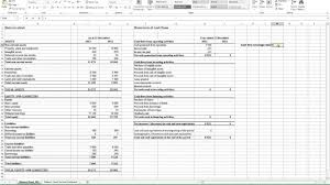 cash flow statement indirect method in excel cash flow statement indirect method in excel kays makehauk co
