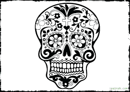 Free Printable Day Of The Dead Coloring Pages Sheets Tipbackco