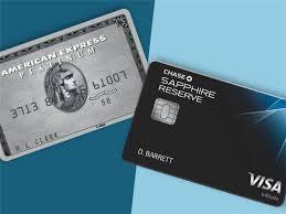 amex platinum vs chase sapphire reserve