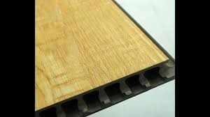 9 10mm thick real wood wpc vinyl flooring supplier