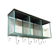 wire shelf with hooks wire mesh hanging shelf awesome rustic wire mesh wall unit shelving with hooks wire closet shelf hooks